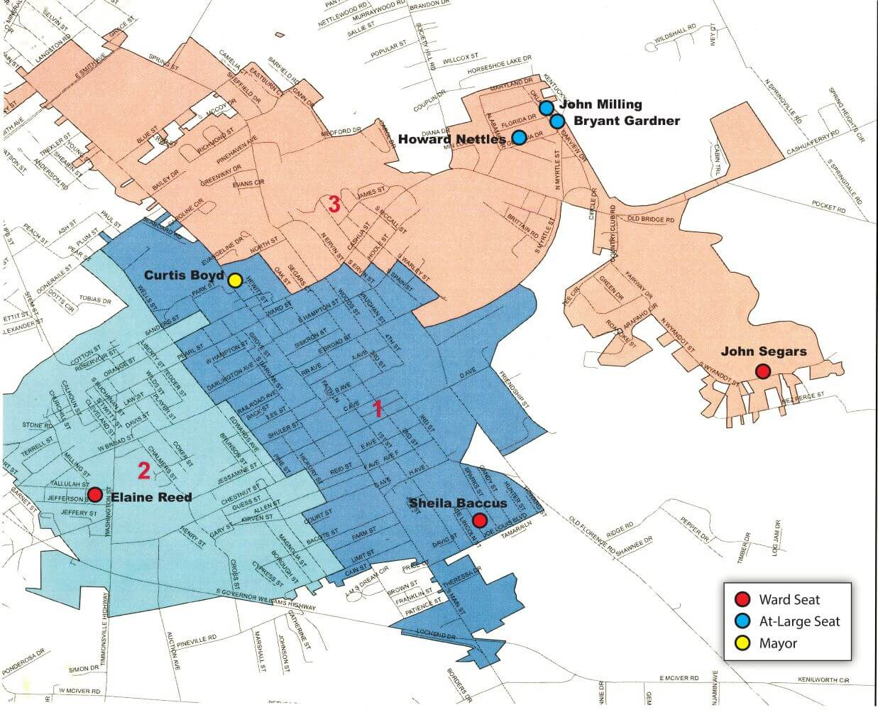 Mayor_Council_Wards Map
