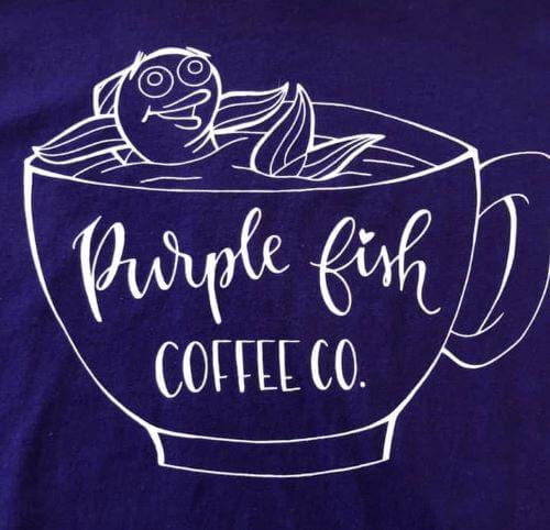 CIVIC GROUPS_PURPLE FISH COFFEE