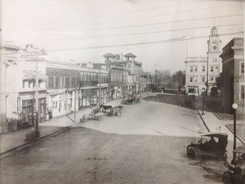 History of Darlington_Public Square