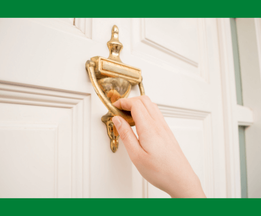 City Staff Knocking On Your Door