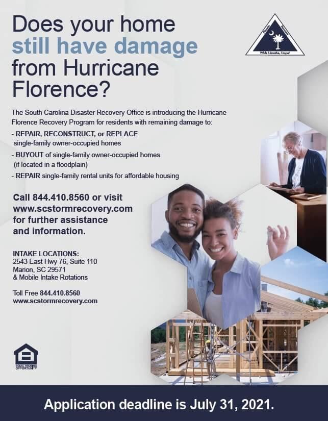 Hurricane Florence Recovery Program