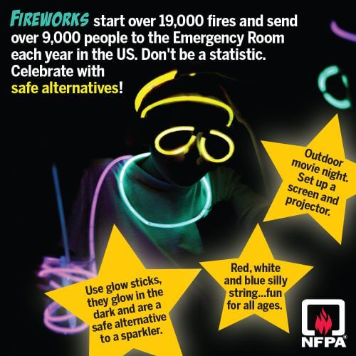 fireworks alternatives